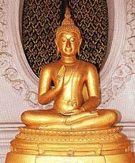 พระพุทธรูปปางอธิษฐานเพศบรรพชิต