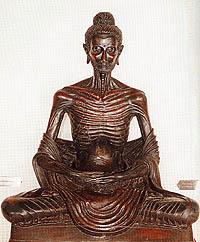 พระพุทธรูปปางบำเพ็ญทุกรกิริยา