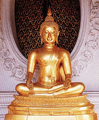 พระพุทธรูปปางรับมธุปายาส