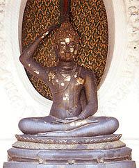 พระพุทธรูปปางพระเกศธาตุ