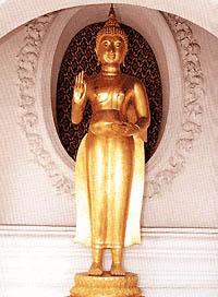 พระพุทธรูปปางโปรดพุทธบิดา